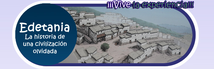 Muestra imagen de la ciudad de edeta